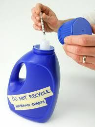 sharp disposal. storing in a bottle - legal, but less safe sharp disposal