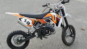 fastest 50cc pit bike nrg 50 gts ktm replica youtube