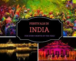 Photo Chart Of Indian Festivals Unique Festivals In India For Every Month Of The Year The