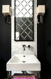 powder room bathroom lighting ideas. Marble Backsplash Ideas Powder Room Contemporary With Bathroom Faucet Lighting. Image By: EANF Lighting I