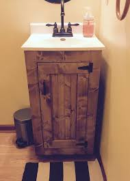 rustic vanities for small bathrooms. custom, new, handmade bathroom vanity - 18w x 16d 32h this country rustic vanities for small bathrooms