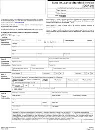 Free Auto Insurance Standard Invoice Pdf 927kb 6 Page S