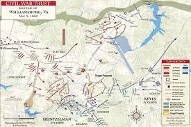 battle of williamsburg  may    civil war trust