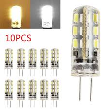 10x g4 led bulbs capsule replace halogen bulb dc 12v light bulb lamps uk