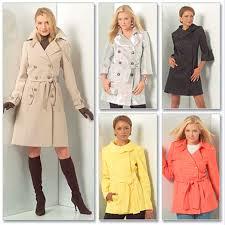 mccalls 5525 trench coat pattern