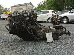 Used]Engine&Transmission 1KZ-TE 2WD AT TOYOTA HIACE, KZH100G - BE ...