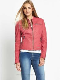 new superdry angel motor leather jacket womens jackets winter coats womens coats colour c