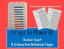Making 10 Anchor Chart Making 10 Anchor Chart Worksheets Teaching Resources Tpt
