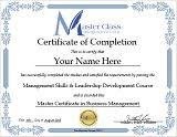 Online Certificates Free Free Online Business Management Training Course Master Certificates