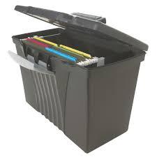 File holder box Leather Storex Portable File Storage Box With Organizer Lid Letterlegal Black Target Target Storex Portable File Storage Box With Organizer Lid Letterlegal