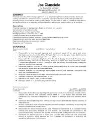 Controller Resume Examples Inspiration Gallery Of Confidential Controller Resume Controller Resume