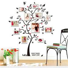 memory family tree diy wall art home decor stickers for living