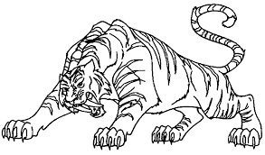 Small Picture Printable Tiger Coloring Pages 203 Tiger Coloring Pages To Print