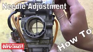 2008 Yz450f Jetting Chart How To Adjust The Needle In Your Motorcycle Or Atv Carburetor