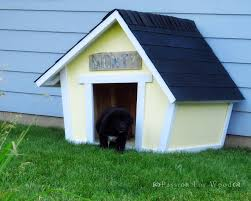 make a crooked doghouse free step by step plans from ana white com