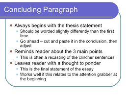 paragraph essay construction  10