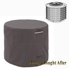 34 INCH ROUND AIR CONDITIONER COVER for Outdoor Ground Central AC Unit  RAVENNA 52963012811