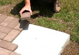patio pavers over concrete. Contemporary Over Pavers Over Concrete Patio To E