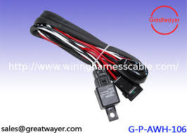 ul 3239 18awg motorcycle wiring harness switch femae 20amp fuse ul 3239 18awg motorcycle wiring harness switch femae 20amp fuse holder shrink tube