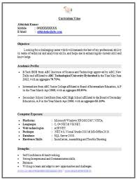 Resume Format For Ece Engineers Freshers Sample Customer Service management  resume cover letter accounting resume samples