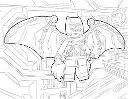 Lego Batman Coloring Page Batman Coloring Pages Batman Car Coloring