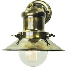 edison small industrial nautical style wall light antique