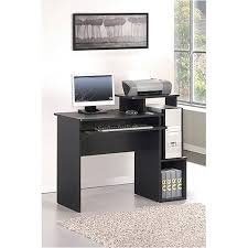 home office computer. furinno 12095bkbr econ multipurpose home office computer writing desk with bin f