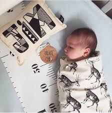 Us 12 0 Milestone Blanket Photography Props Baby Growth Chart Childrens Tape Measure Baby Room Decoration Photography Props 200 20cm In Blanket