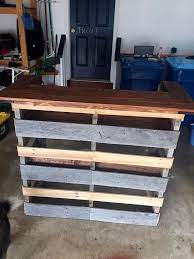 build a pallet bar step by step