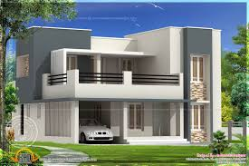 First Floor House Design Pictures 2180 Square Feet House Exterior Kerala Home Design And