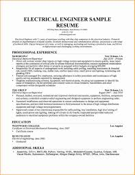 instrument engineer sample resume essays in apa format electrical engineering resume sample for freshers writing electrical engineering resume examples 5 electrical engineering resume sample