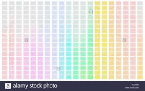 Green Shade Chart Color Palette Palette Of Colors White Background Color