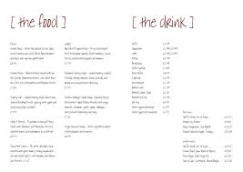Free Catering Menu Templates For Microsoft Word Restaurant Menu Template Free Template Business