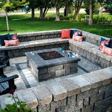 Patios With Fire Pits Square Fire Pits Are The New Round Fire Pit We
