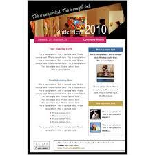 Html Email Flyer Templates Jourjour Co
