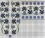 Схемы вышивки крестиком для рубашки