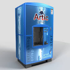 Glacier Water Vending Machine Locations Inspiration Water Vending Machine 48d Model