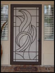 aluminum security screen door. Backyards Decorative Security Screen Doors Atozscreens Pertaining To Sizing 1935 X 2559 Aluminum Door