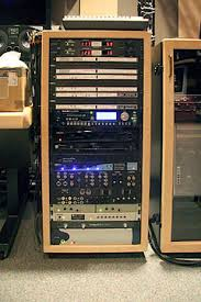 sound system rack. the main equipment rack and cpu isolation rack. (larger images) sound system