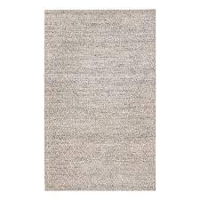 anji mountain sigis soft jute and wool alternative gray 8 ft x 10 ft