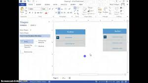 create er diagrams using visio   youtubecreate er diagrams using visio