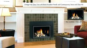 electric fireplace trim kit post electric fireplace insert expandable trim kit