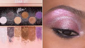 make up for ever s star lit glitter palette is so sparkly see swatches allure