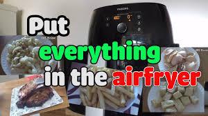 Try Putting Everything In The Philips Airfryer | Thử Bỏ Mọi Thứ Vào nồi  chiên không dầu Philips - YouTube