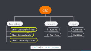 Organizational Chart Template For Consulting Companies