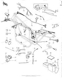 Kawasaki motorcycle 1978 oem parts diagram for chassis electrical equipment '79 '81 c2 partzilla