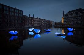 Amsterdam Light Festival 2019 8th Annual Light Festival Illuminates Amsterdam With Glowing