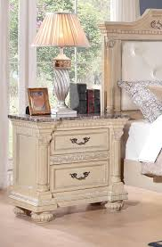 antique white nightstand. Homelegance Russian Hill Night Stand - Antique White Nightstand