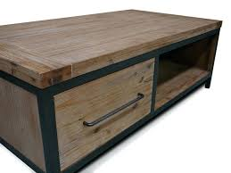modern acacia wood 2 drawer coffee table wiltshire full size