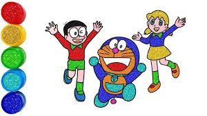 Doraemon ilustrasi lucu doraemon karya seni 3d see more ideas about doraemon doraemon cartoon doraemon wallpapers. Doraemon 2019 Learn Drawing And Coloring Video For Kids Learning English Éラえもん Á®ã³å¤ª
